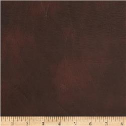 Faux Leather Brown Fabric