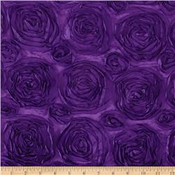 Rosette Satin Purple