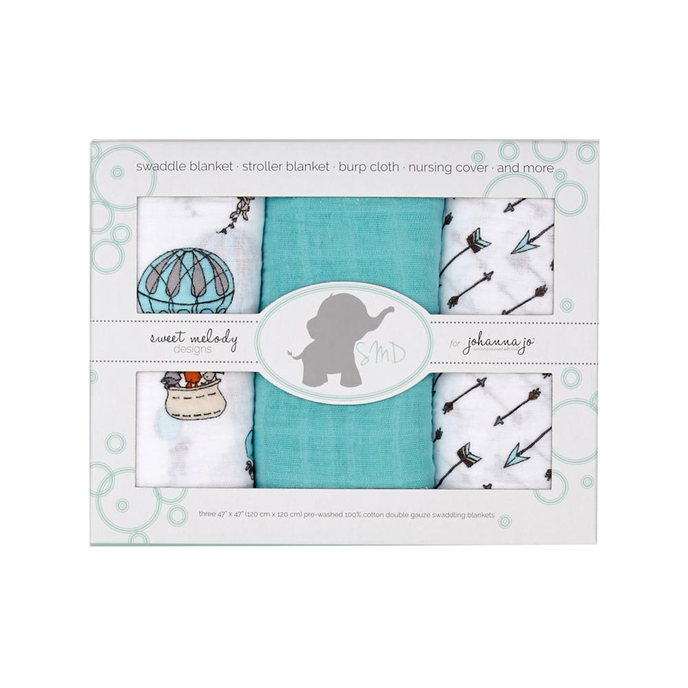 Embrace Double Gauze Swaddle 3 Pack Away We Go