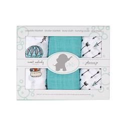 Shannon Embrace Double Gauze Swaddle 3 Pack Away We Go