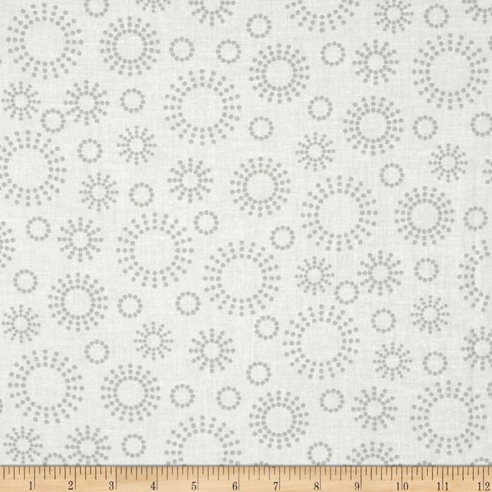"108"" Contempo Quilt Back Grey/White"