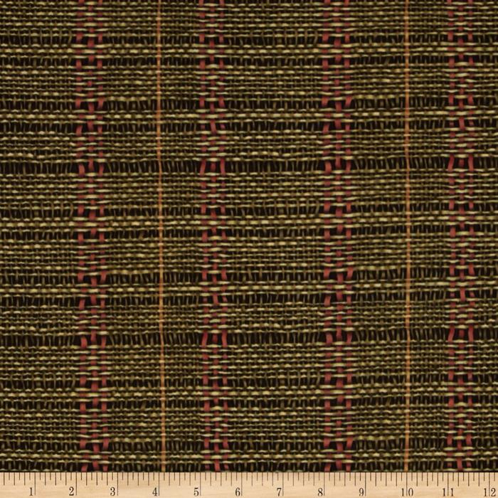 Woodlands Woven Raffia Pine Green