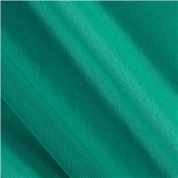 Spandex Stretch Illusion Shaper Mesh Teal