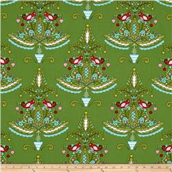 Merry Mistletoe Partridge Green