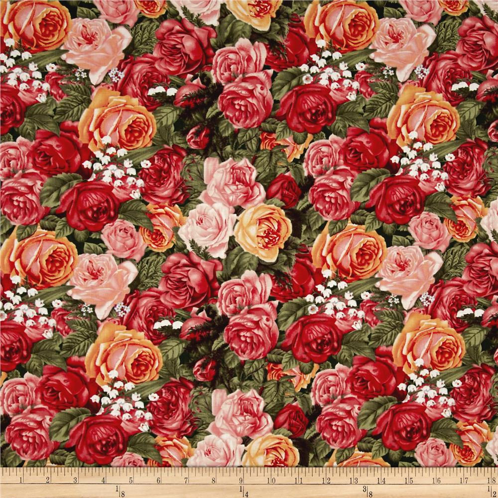 Home Sweet Home Packed Roses Multi