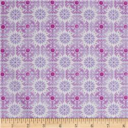 Treasures of Nature Under the Sea Tonal Medallion Lavender