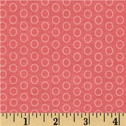 Riley Blake Circle Dot Coral