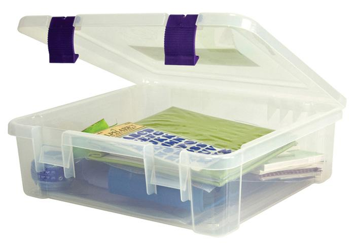 Creative Options Album & Craft Tub Craft Organizer Clear