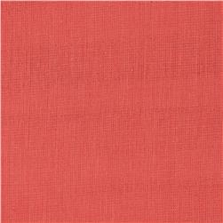Birch Organic Double Gauze Solids Coral