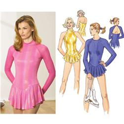 Kwik Sew Raglan Leotards Pattern
