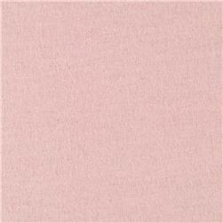 Comfy Double Napped Flannel Baby Pink Fabric