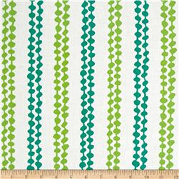 Contempo Brigitte Lingonberry White/Green