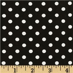 Michael Miller Dumb Dot Black/White Fabric