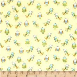 Koala Party Small Birds Yellow