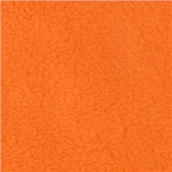 Wintry Fleece Neon Orange Fabric