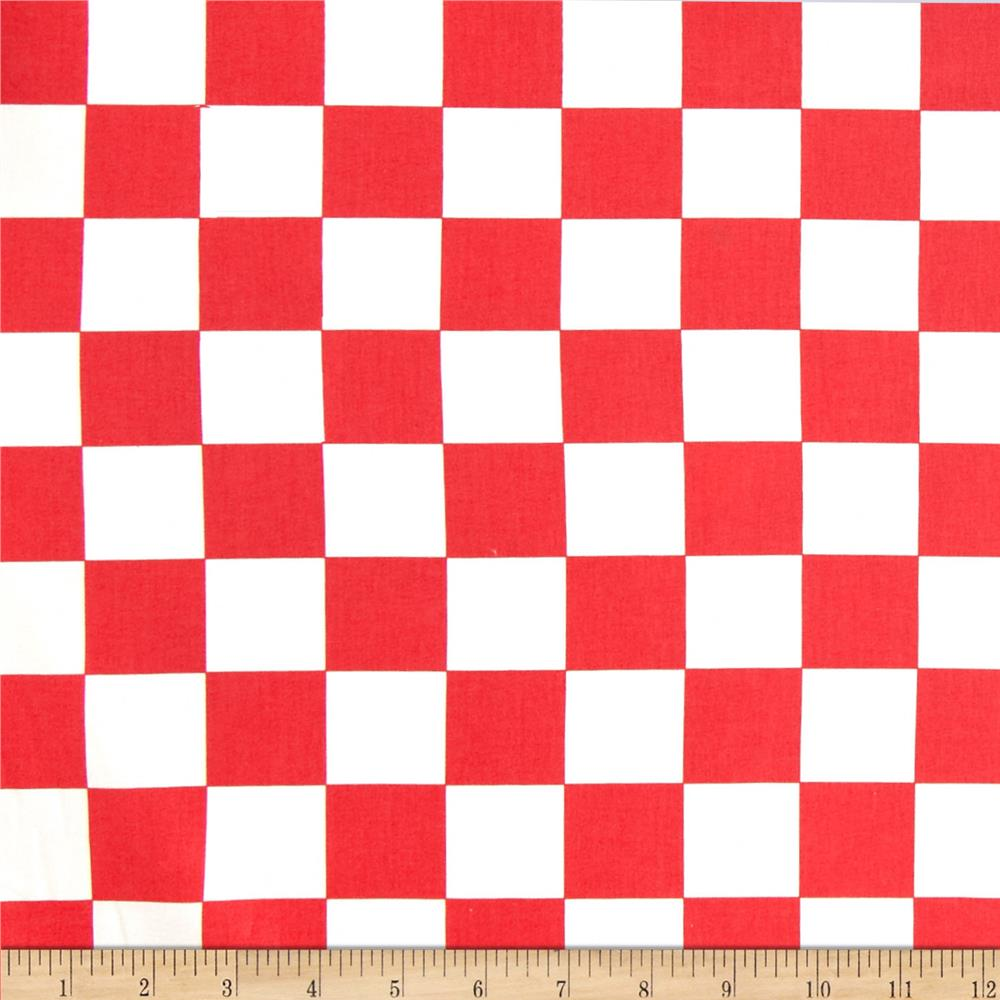 Kanvas Arnold's Diner Checkerboard Red