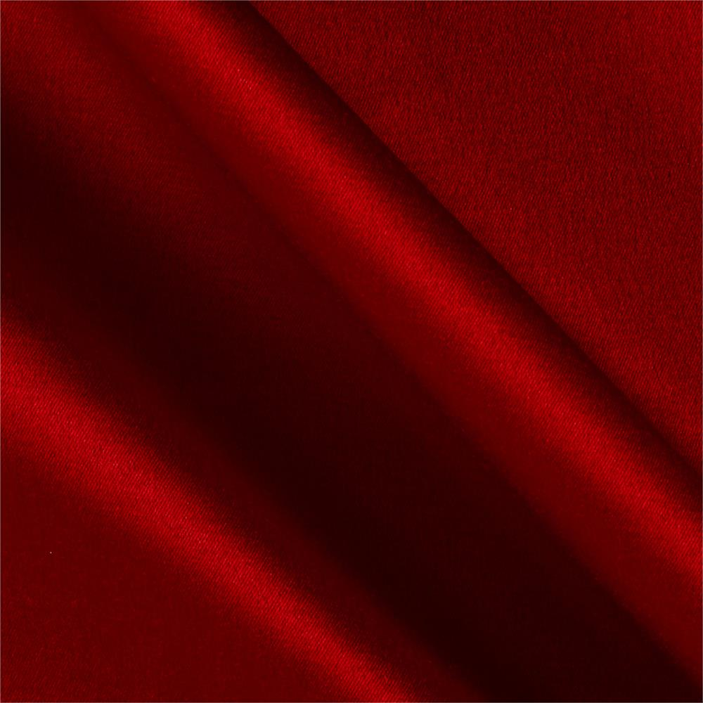 Sateen Solid Red