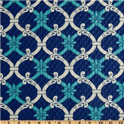 Waverly Sun N Shade Quilted Heat Wave Marine