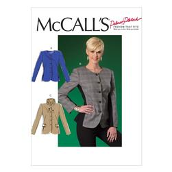McCall's Misses' Jackets Pattern M7024 Size B50