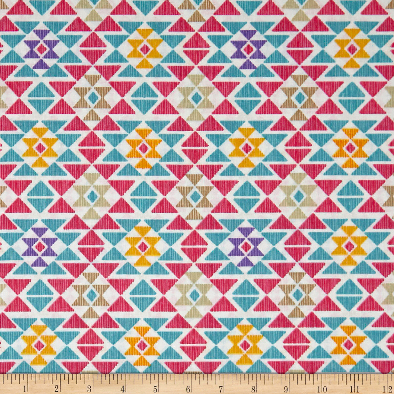 Stof France Infants Nasca Multicolore Fabric