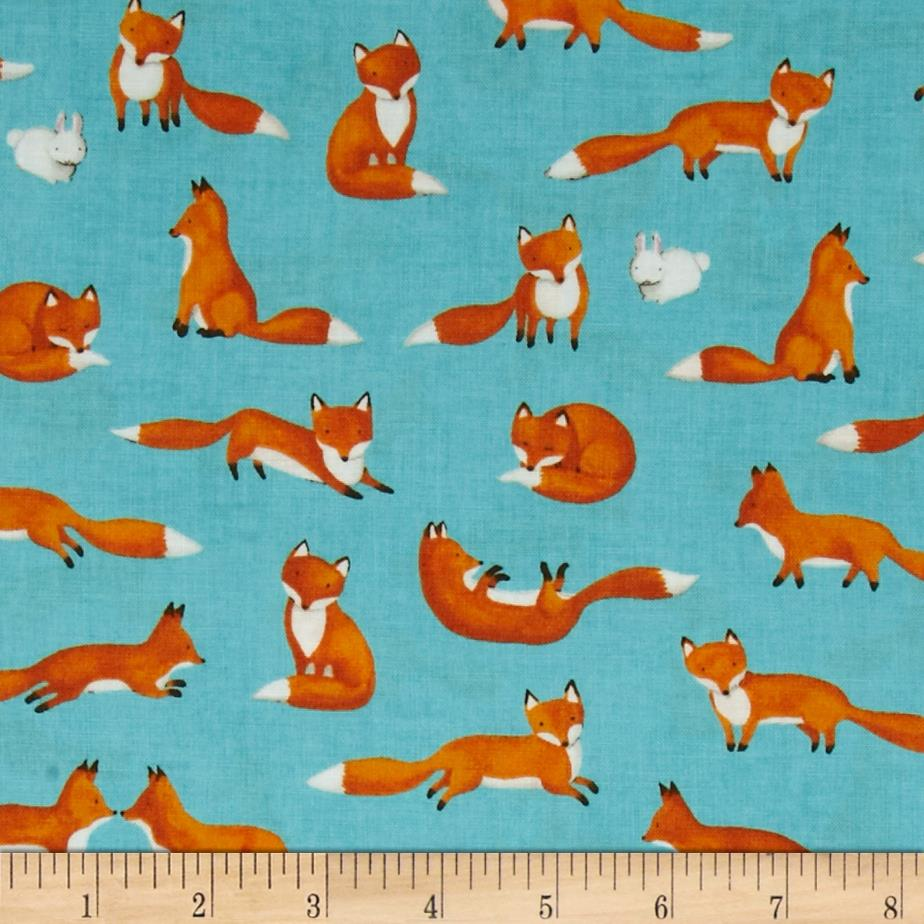foxes yoga fabric - photo #40