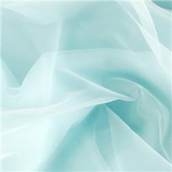 "108"" Nylon Chiffon Tricot Light Blue"