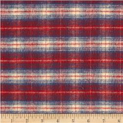 Primo Country Squire Flannel Small Plaid Blue/Red/Cream
