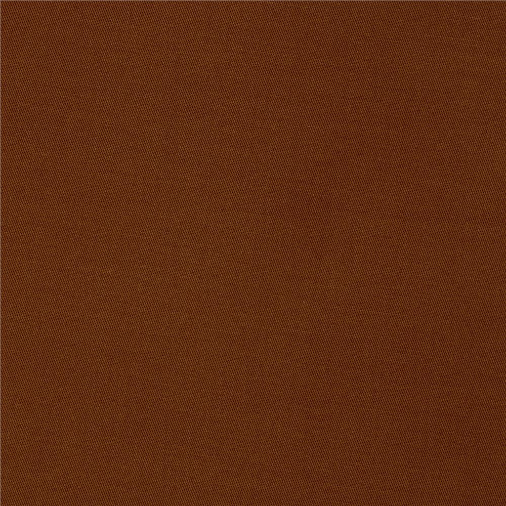 Kaufman Fineline Twill 4.9 Oz Walnut