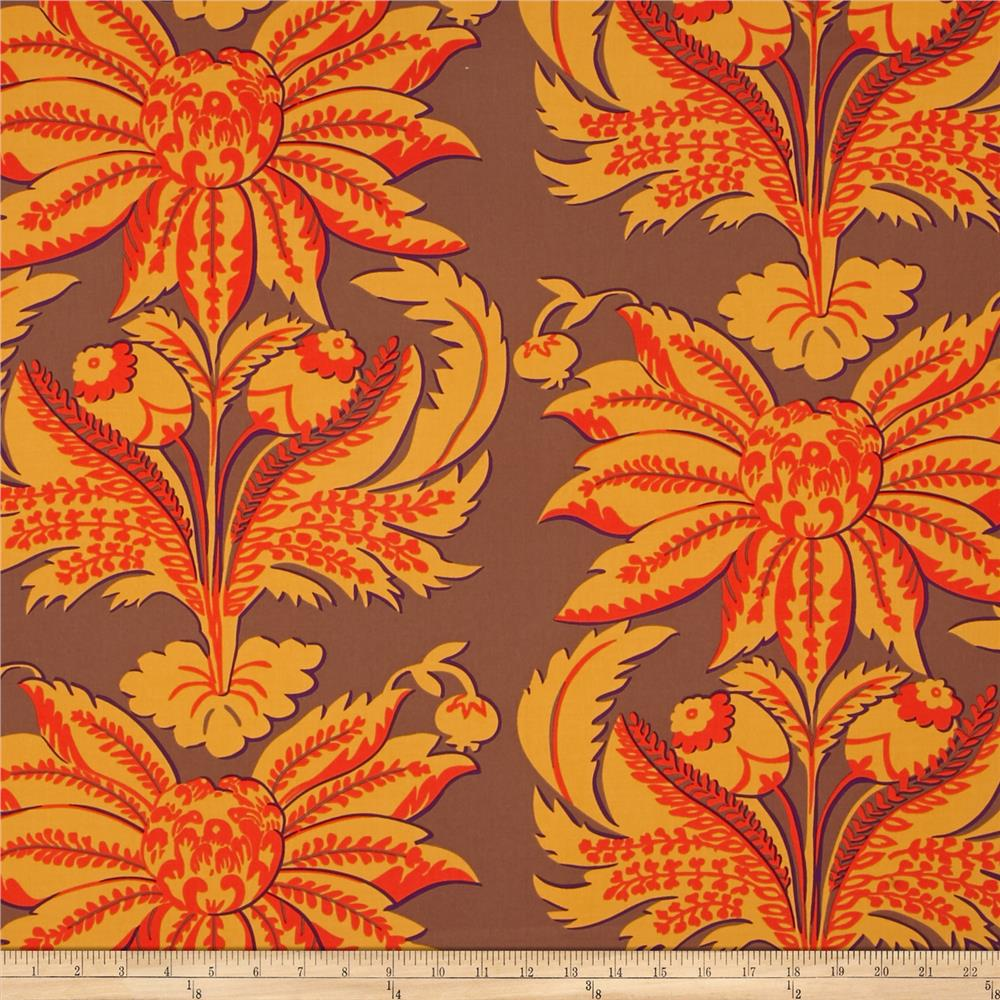 Kaffe Fassett Sateen Brandon's Brocade Brown