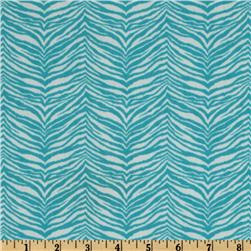 Premier Prints Little Tiger Twill Turquoise