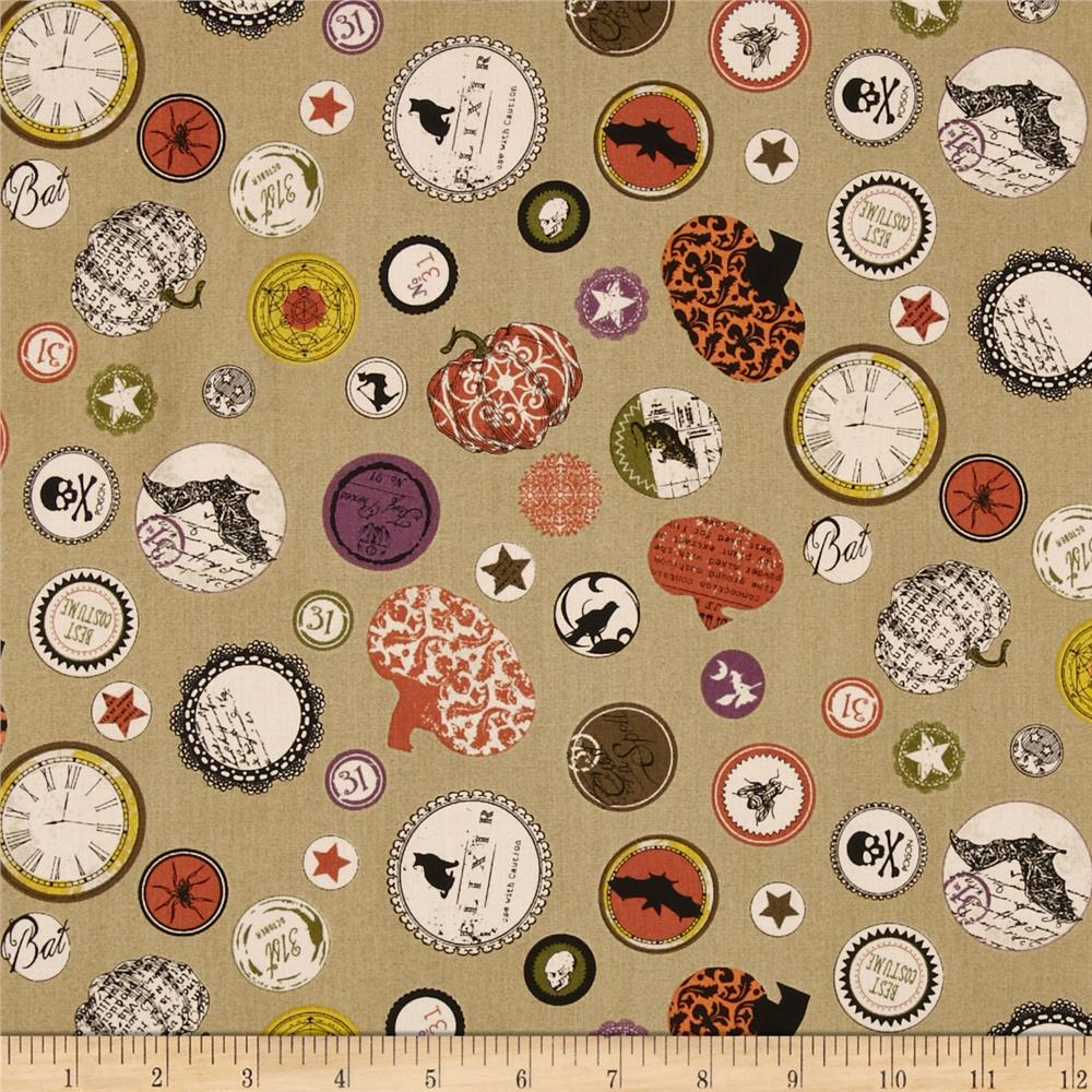 Chillingsworth Spooky Collage Khaki
