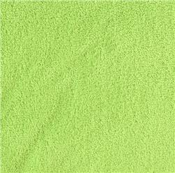 Cuddle Fleece Dark Lime Fabric