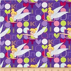 Disney Tinkerbell Tink in Lights and Dots Purple
