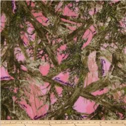True Timber Fleece Camo Pink