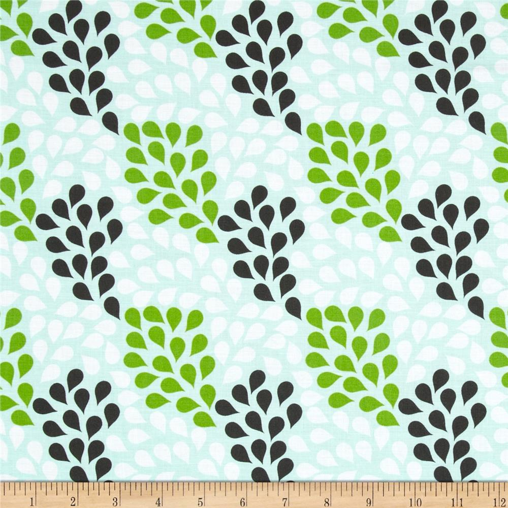 Riley Blake Little Ark Rain Green