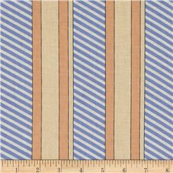 Kanvas Cabana Dotted Stripe Perri/Peach