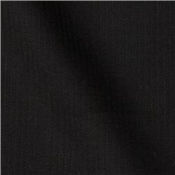 Designer Stretch Cotton Blend Shirting Black