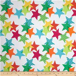 Michael Miller Funfair Stars-A-Lined Fresh