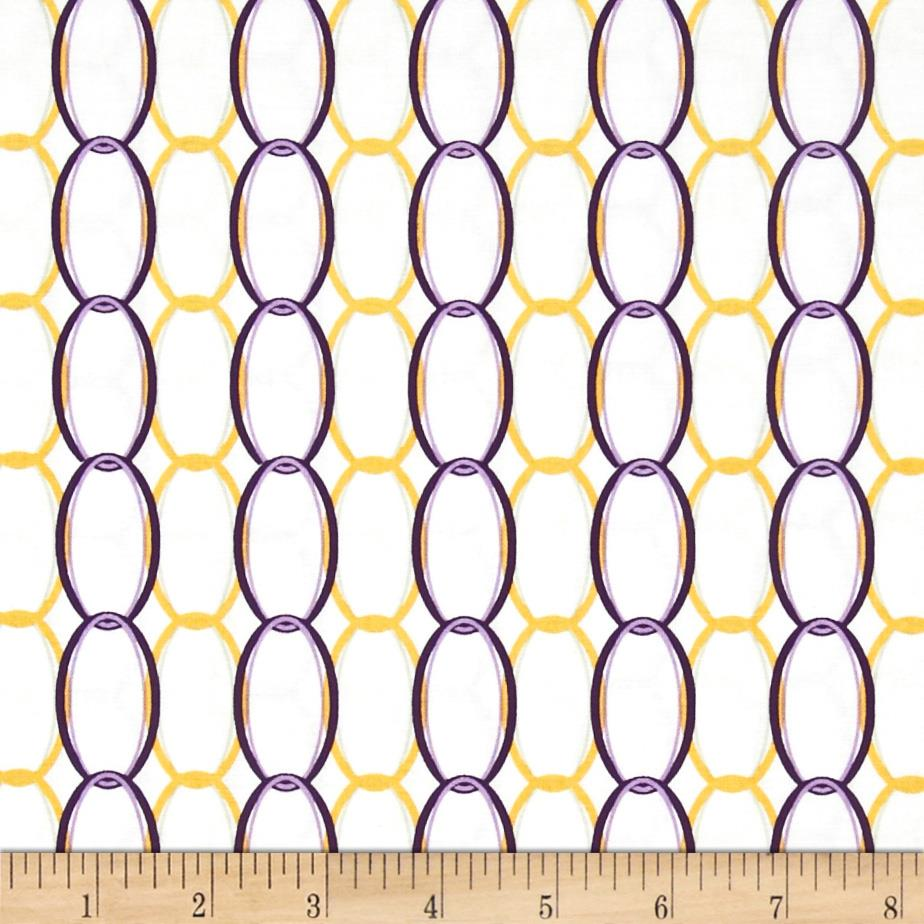 Riley Blake Ashbury Heights Curtain Purple