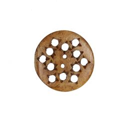 Bone Button 1 1/4'' Bombay Natural