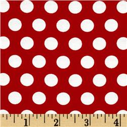 Moda April Showers Polka Dot Red