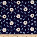 Feathers & Flourishes Flourish Dots Navy