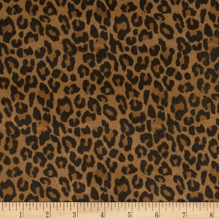 Tempo Cheetah Suede Golden Brown