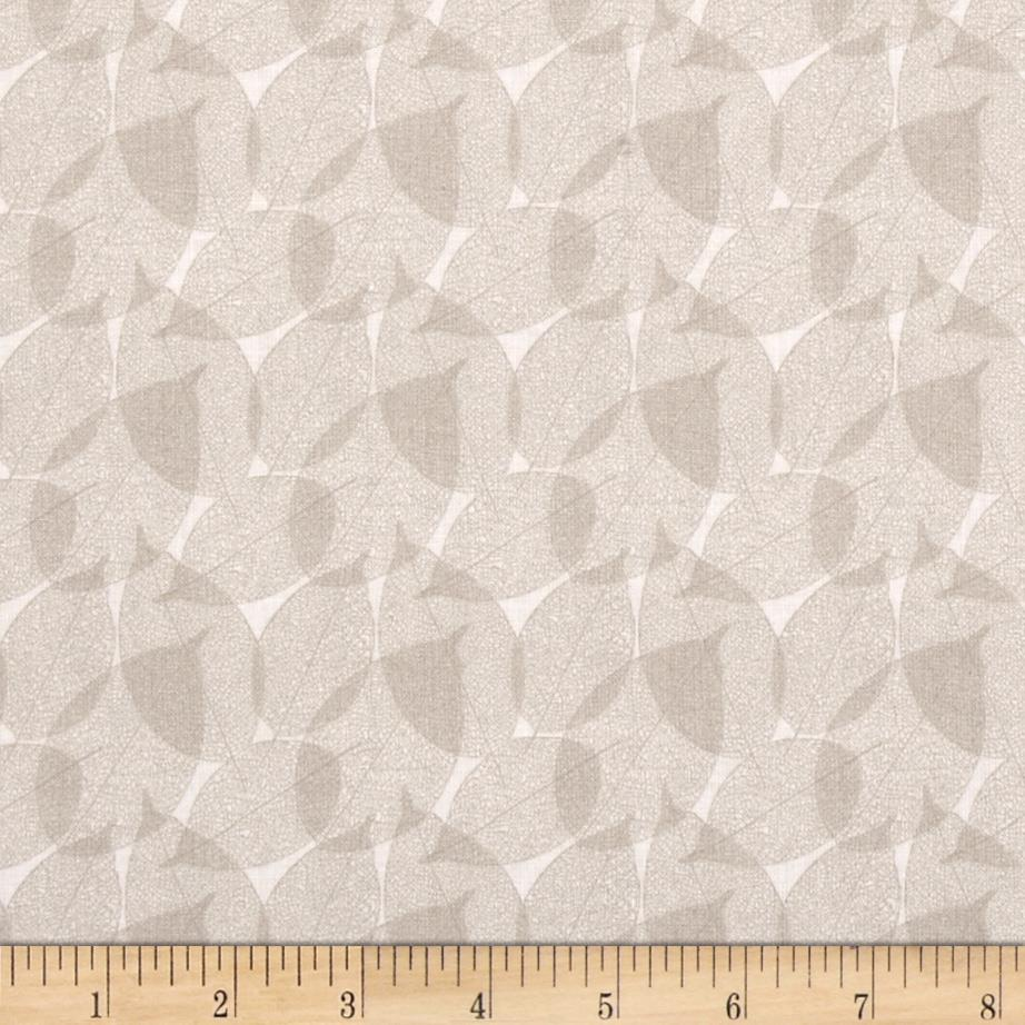 Classical Elements Leaves Taupe