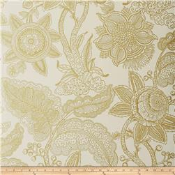 Fabricut 50204w Reina Wallpaper Gold 01 (Double Roll)