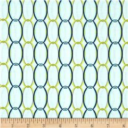 Riley Blake Ashbury Heights Curtain Blue