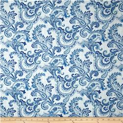 Swavelle/Millcreek Tortoni Slub Sea Fabric