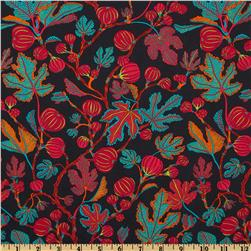 Liberty Of London Tana Lawn Alma Black/Red