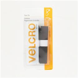 "Velcro Sew On Tape 5/8"" Black"