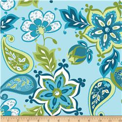 Riley Blake Splendor Large Floral Blue